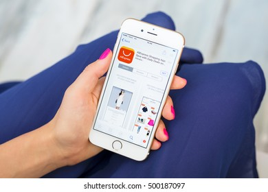 RIGA, LATVIA - SEPTEMBER 8, 2016: AliExpress.com is an online retail service made up of mostly small Chinese businesses offering products to international online buyers.