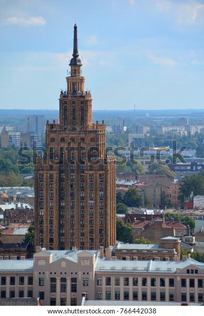 Riga Lavtia 09 17 2015 Academy Stock Photo (Edit Now) 766442038