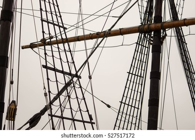 Ship mast stock images royalty free images vectors shutterstock rigging and mast of old ship in detail sciox Gallery
