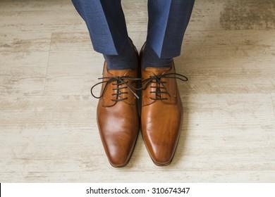 Brown Shoe Images, Stock Photos & Vectors | Shutterstock
