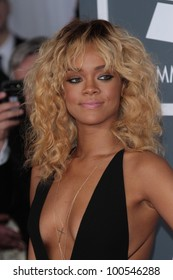 Rihanna at the 54th Annual Grammy Awards, Staples Center, Los Angeles, CA 02-12-12