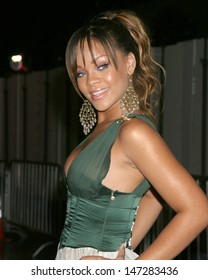 Rihanna Arrive(s) at the  World Music Awards Kodak Theater Los Angeles, CA August  31, 2005