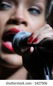 "Rihanna, Kiss 108 ""Kiss Concert""  May 20th, 2006, Tweeter Center, Mansfield, MA"