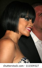"Rihanna at the party celebrating the release of her new album ""Good Girl Gone Bad"". Sugar, Hollywood, CA. 06-03-07"