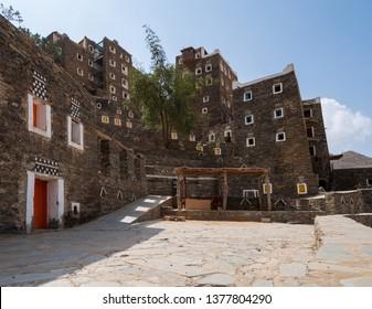 Rijal Almaa world heritage site in Asir region, Saudi Arabia