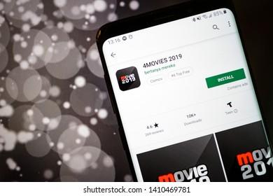 Google Play Movies & Tv Images, Stock Photos & Vectors