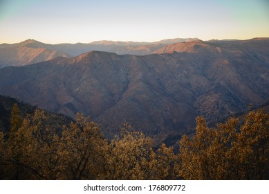 Rim of the World Vista in Stanislaus National Forest, California.