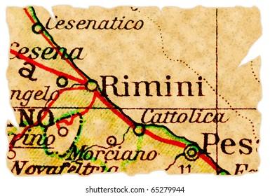 Rimini Map Images Stock Photos Vectors Shutterstock