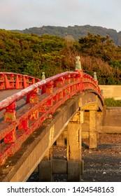 Rin Bridge of Hayama Imperial Villa in Hayama Town, Kanagawa Prefecture, Japan