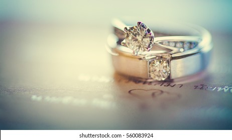 Ring & Engagement & Couple