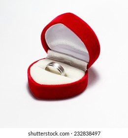 Ring in a gift box