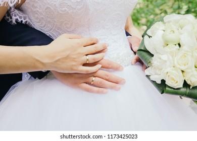 ring, love, bride, groom, wedding