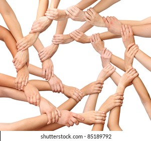 Anel de muitas mãos isoladas