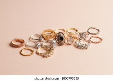 ring photo in the studio