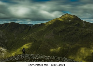 Ring of Steall hiker