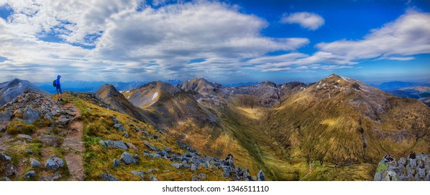 The Ring of Steall Mamores