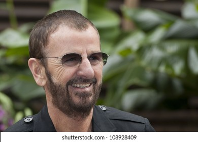 Ringo Starr at the Press Day for the 2012 RHS Chelsea Flower Show, Royal Hospital Grounds, Chelsea. 21/05/2012 Picture by: Simon Burchell / Featureflash