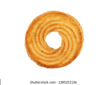 Rings biscuit isolated on a white