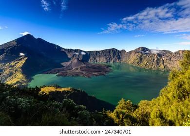 Rinjani volcano, Lombok Island, Indonesia