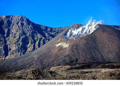 Rinjani Volcano on Lombok, Indonesia