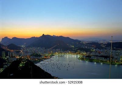 Rio after sunset