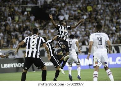 Rio, Brazil - february 01, 2017: Marcelo during Botafogo (BRA) vs Colo Colo (CHI) in the Copa Libertadores of America match at the Nilton Santos Stadium (Engenhao)