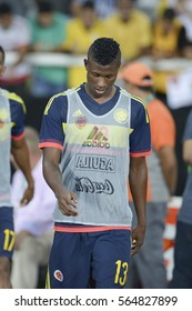Rio, Brazil - january 25, 2017: Luis Manuel Orejuela during Game of Friendship, Brazil (BRA) X Colombia (COL) held in Engenhao to help the Chapecoense team after the air disaster in Colombia