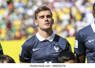 Rio, Brazil - july 04, 2014: Antoine GRIEZMANN during the FIFA 2014 World Cup. Germany is facing France in the quarter-finals at Maracana Stadium