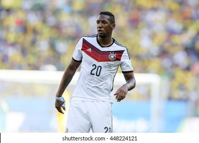 Rio, Brazil - july 04, 2014: Jerome BOATENG during the FIFA 2014 World Cup. Germany is facing France in the quarter-finals at Maracana Stadium