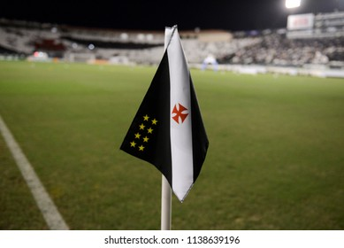 Rio, Brazil - july 19, 2018: xxxxxxx player in match between Vasco and Fluminense by the Brazilian Championship in Sao Januario Stadium