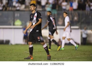 Rio, Brazil - july 19, 2018: Ricardo Graca player in match between Vasco and Fluminense by the Brazilian Championship in Sao Januario Stadium