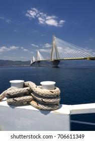 Rio bridge in Peloponnese/The bridge