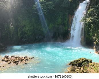Rio céleste in Costa Rica