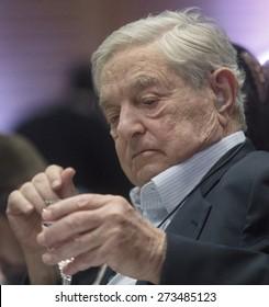 Rio de Janeiro, April 22th, 2015- Mega investor George Soros.