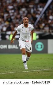 Rio de Janeiro, Brasil, 11 04 2018 - Roger (Corinthians team) during a Brazilian Championship Soccer match. Botafogo team versus Corinthians team.