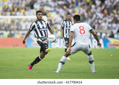 Rio de Janeiro, Brasil - may 08, 2016: match between Botafogo and Vasco by the first match final of Carioca championship in Maracana Stadium