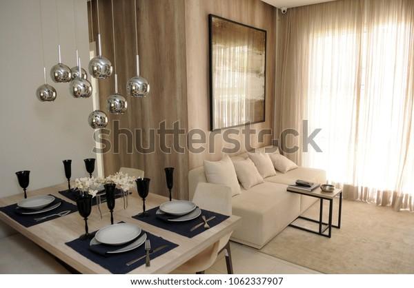 Rio de Janeiro -Brazil, 03 de April de 2018 photos of interior decoration of middle class fittings in Brazil