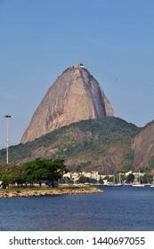Rio de Janeiro / Brazil - 08 May 2016: Sugarloaf mountain in Rio de Janeiro, Brazil