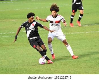 Rio de Janeiro, Brazil, 10 octuber 2020. Vasco and Flamengo   for the Brazilian Cup  at the São Januário stadium.