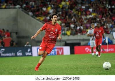 Rio de Janeiro, Brazil, December 27, 2018.  Soccer player Kaka, during the game of the stars in the stadium of the Maracanã.