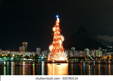 Christmas tree in lagoon images stock photos vectors shutterstock