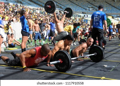Rio de Janeiro, Brazil, June 17, 2018. Iron Wod Crossfit Championship, at the Maracanã Stadium in the city of Rio de Janeiro.