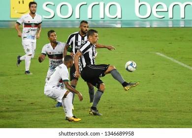 Rio de Janeiro, Brazil, March 21, 2019. Soccer player Diego Souza of the Botafogo team, during the game Botafogo vs. Portuguesa for the Caroca Championship in Estadio Engenhão.