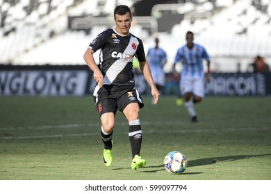 Rio de Janeiro, Brazil - march 12, 2017: Wagner player in match between Macae and Vasco da Gama by the Carioca championship in Engenhao Stadium