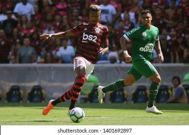 Rio de Janeiro, Brazil, May 12, 2019. Football player Bruno Henrique of the Flamengo team, during the Flamengo x Chapecoense match for the Brazilian Championship at the Maracanã Stadium.