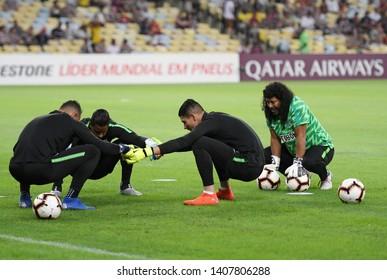 34b4fad5d53 Rio de Janeiro, Brazil, May 23, 2019. Former soccer goalkeeper René Higuita