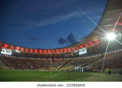 Rio de Janeiro- Brazil, October 27, 2018, photos of the   Maracanã stadium