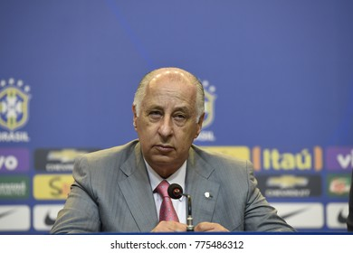 Rio de Janeiro - Brazil, , president of CBF (Brazilian Football Confederation) Del Nero is suspended by FIFA for 90 days of football activities due to commercial involvement.