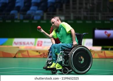 Rio de Janeiro - Brazil, September 12, 2016 Team Brazil Boccia Paralympic Games 2016