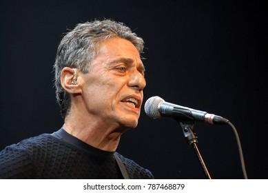 Rio de Janeiro, Brazil.5 January 2012. Cantor Chico Buarque de Holanda during his show at Vivo Hall in the city of Rio de Janeiro.